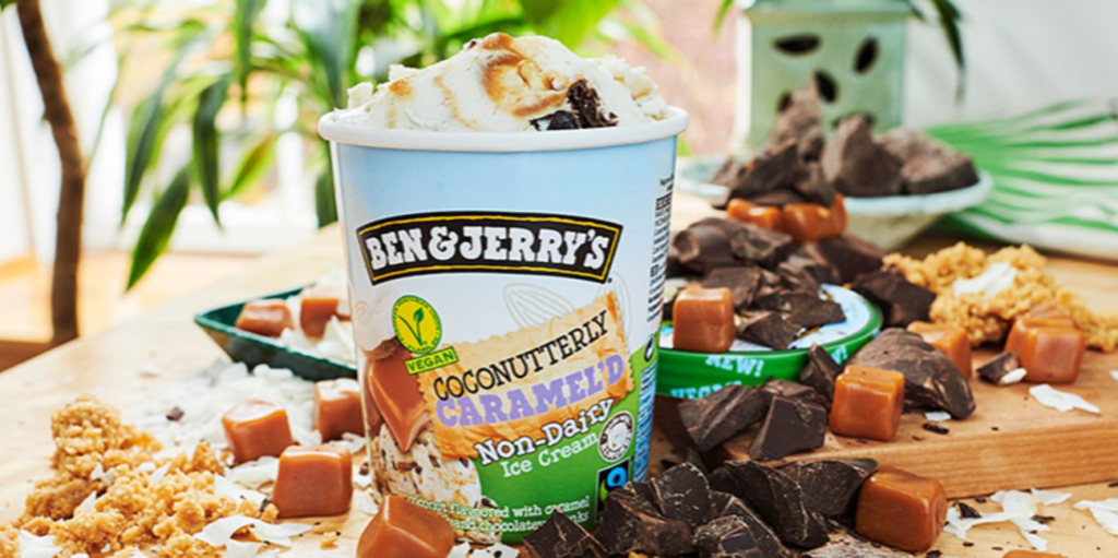 Ben & Jerry's launches coconutty new vegan flavour in the UK