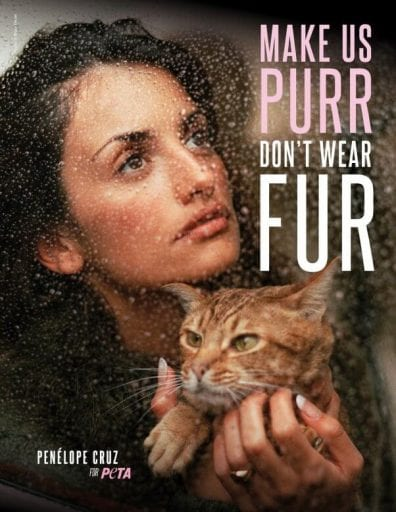 Celebs Lucy Watson, Penelope Cruz and Poppy Delevingne Pile More Misery On 'Dying' Fur Industry