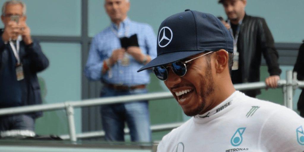 Vegan Formula 1 Champ Lewis Hamilton Recognised As An 'Ally Of Animals' In PETA Award