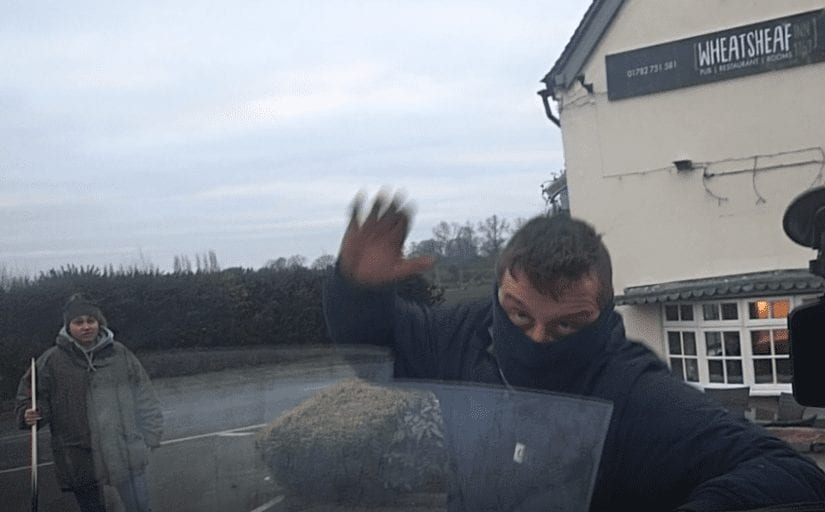 Animal Rights Activists attacked by Pool cue-wielding fox hunting supporters