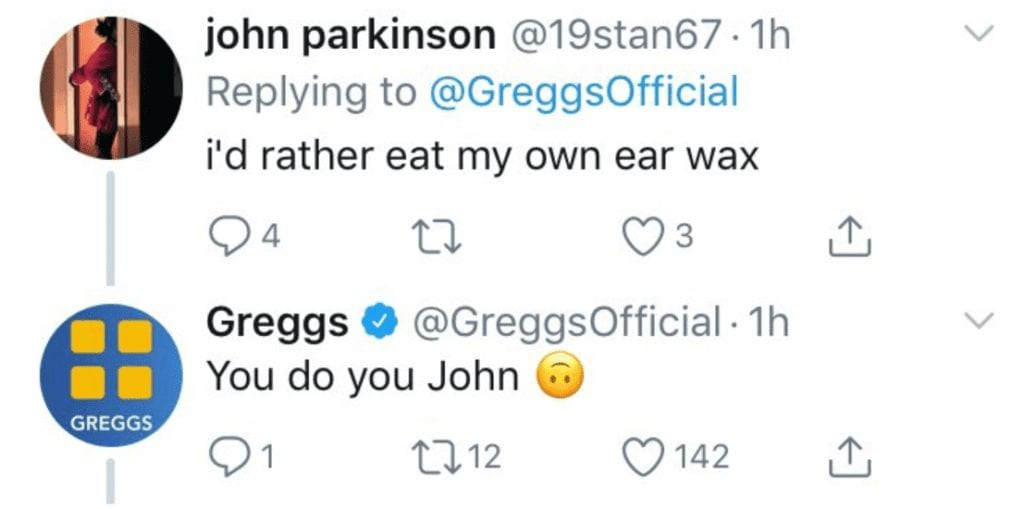 Greggs Launched A Vegan Sausage Roll And Meat Eaters Were Angry, So Greggs Got Sassy