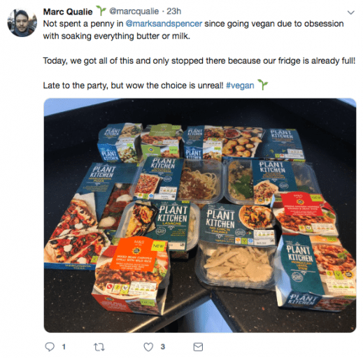 Marks & Spencer's massive new vegan range seems to go on forever, and people love it