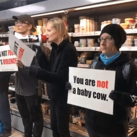 Protesters-Target-Self-Proclaimed-'Ethical'-Supermarket-Chanting-'Humane-Slaughter-Does-Not-Exist'