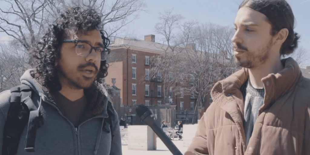 Earthling Ed stumps Harvard students in veganism debates