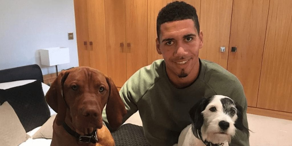 Vegan Manchester United footballer Chris Smalling is 'constantly getting stronger' since switching diet