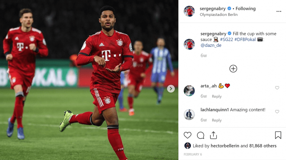 Germany Footballer Serge Gnabry Just Turned Vegan, And He's In The Form Of His Life