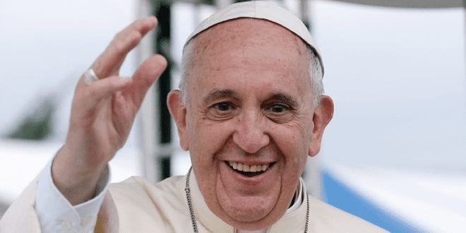 Pope Francis gives indecisive response to £1m charity challenge to go vegan for lent