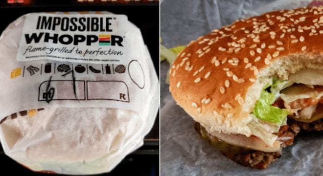 Burger King launched Impossible Whopper Burger