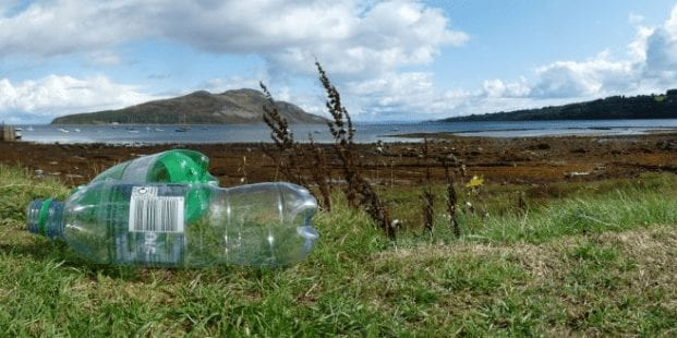 Scotland's Isle of Arran has been recognised as the first 'plastic-free community'
