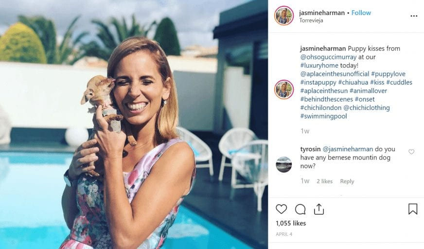 Vegan 'A Place In The Sun' presenter Jasmine Harman refuses to film at restaurants which 'kill babies'