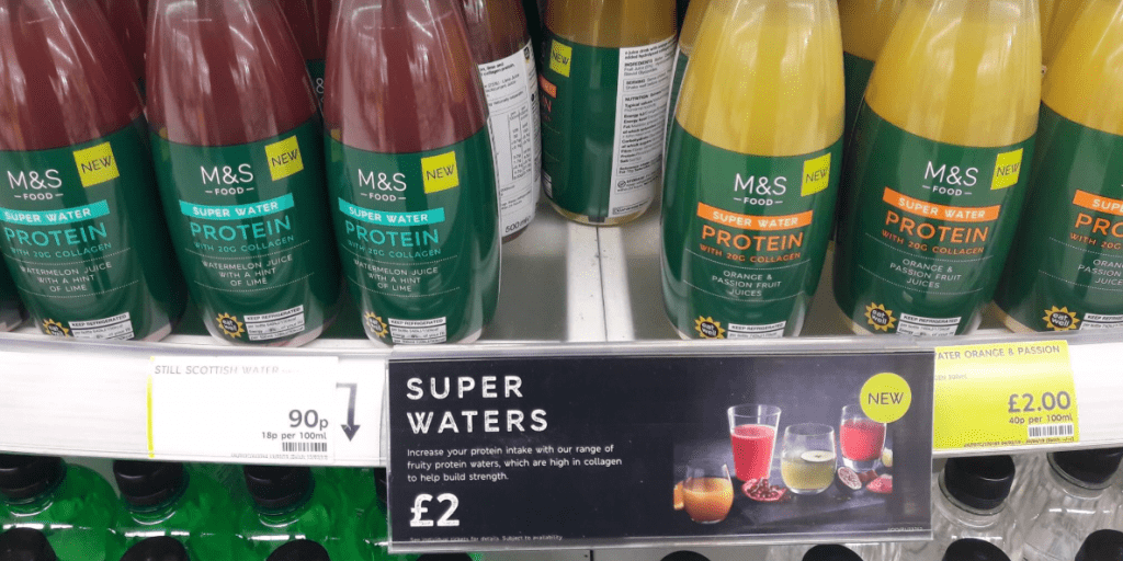 Vegans Left Disgusted After Discovering Marks & Spencer's Super Water Contains Beef