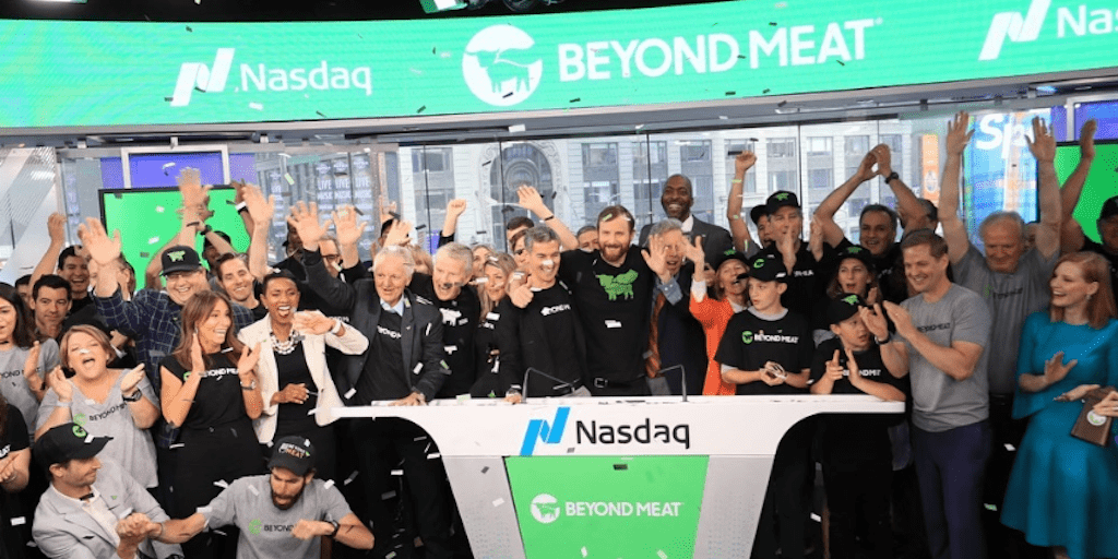 Beyond Meat's Valuation More Than Doubled To $3.8bn On Sensational First Day On The Stock Market