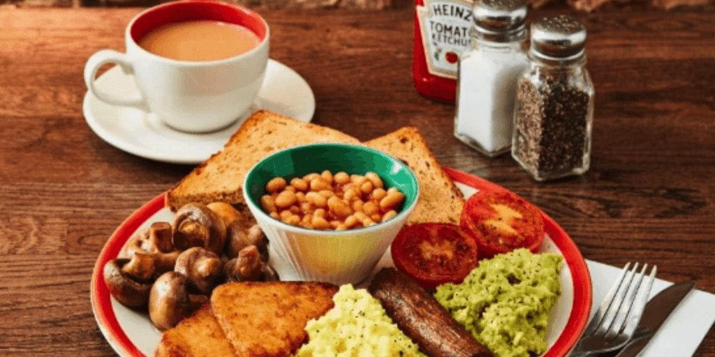 Frankie & Benny's Has Added 7 New Vegan Options Including A Plant-Based Full English Breakfast