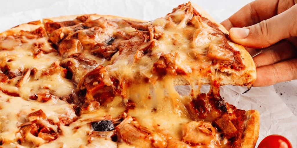 You Can Now Get A Frozen Vegan Pizza With Stretchy Cheese In