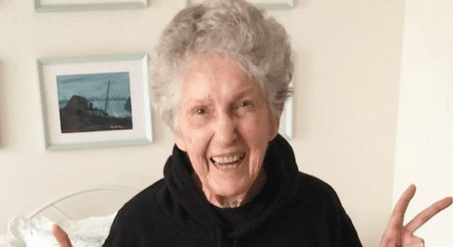 95 years old vegan woman activist