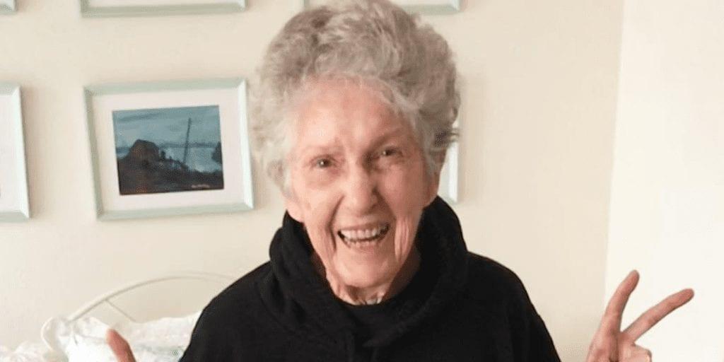 95 years old vegan woman activist
