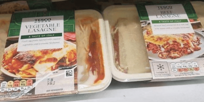Outrage as Tesco shopper 'swaps labels on meat and vegetarian meals'_TotallyVeganBuzz