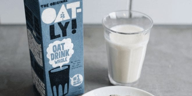 Plant milk giant Oatly plans UK factory to meet unprecedented demand