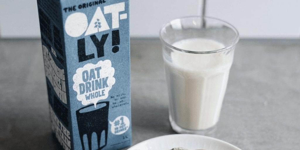 Plant milk giant Oatly plans UK factory to meet unprecedented demand