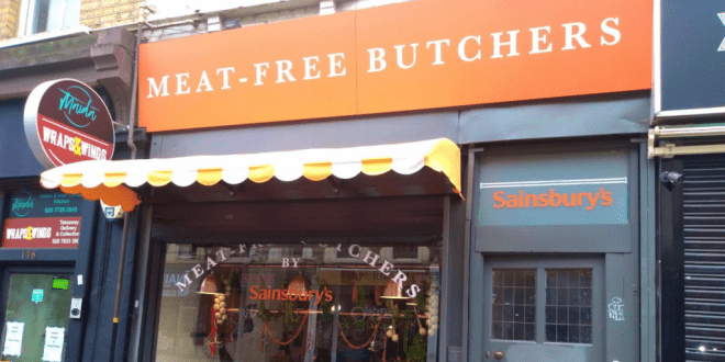 Sainsbury's 'Meat Free Butchers' has arrived
