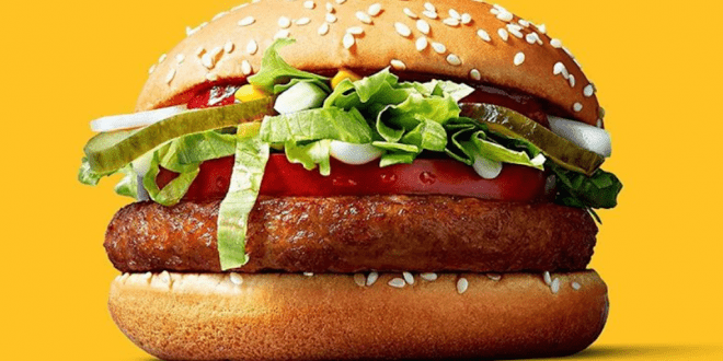 The McDonald's 'Big Vegan' burger is coming