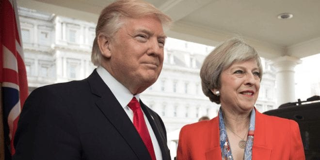UK Prime Minister to challenge Donald Trump's 'reckless approach' to climate change