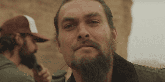 WATCH- Jason Momoa shaves his beard to convince you to ditch plastic
