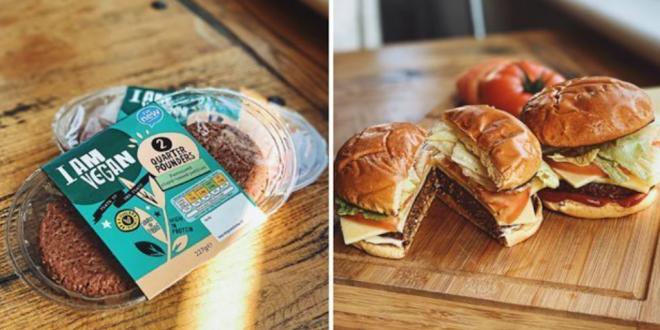Aldi launches 'I Am Vegan' range to meet 'growing popularity for vegan options'