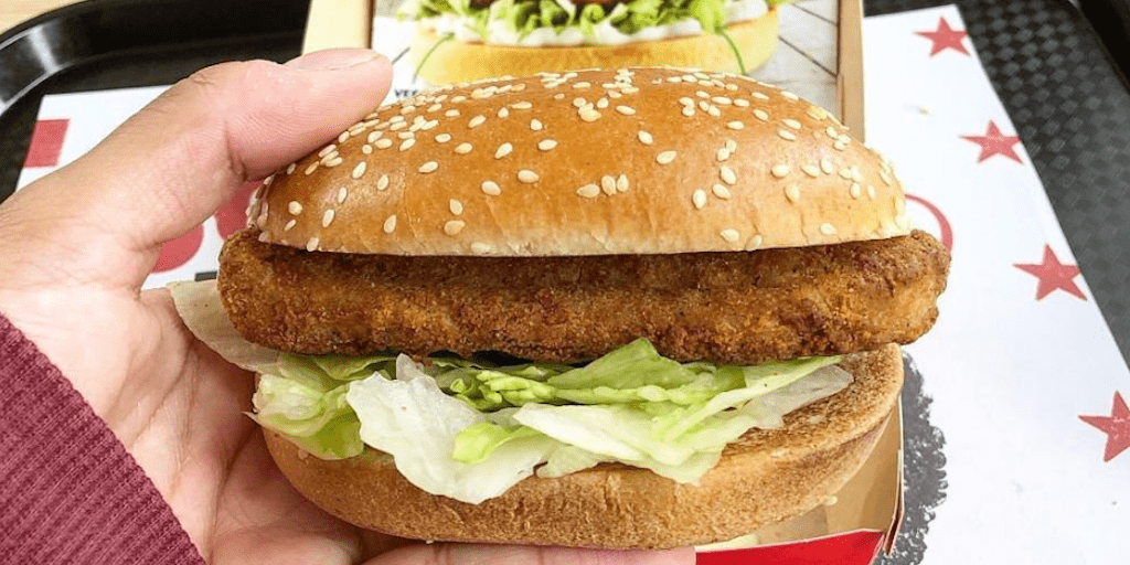 KFC's vegan Imposter Burger is back thanks to overwhelming demand