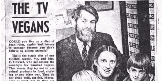Life of 1960s vegan family revealed in fascinating newspaper clipping