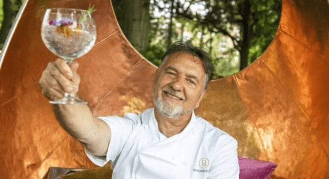 Michelin-starred chef Raymond Blanc