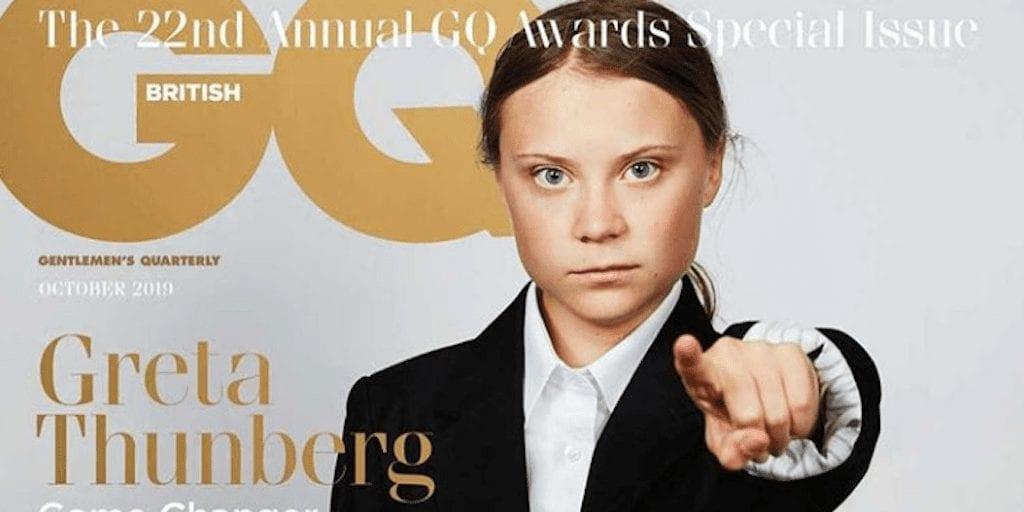 Greta Thunberg wins GQ 'Game Changer of the Year' award