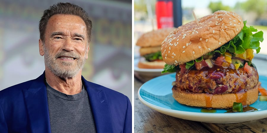 Arnold Scharzanegger 'loves' plant-based food 'much more than meat'