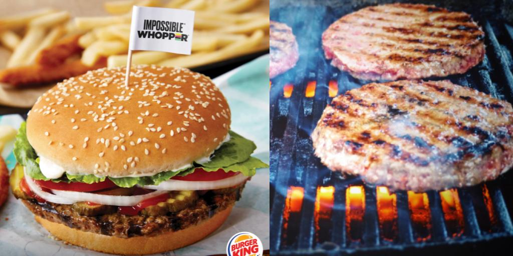 Burger King's Impossible Whopper is cooked on the same grill as meat