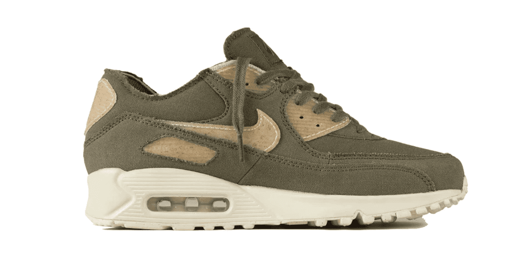 sports shoes ba783 eeb2a Nike's new vegan Air Max 90 sneakers made with sawdust ...
