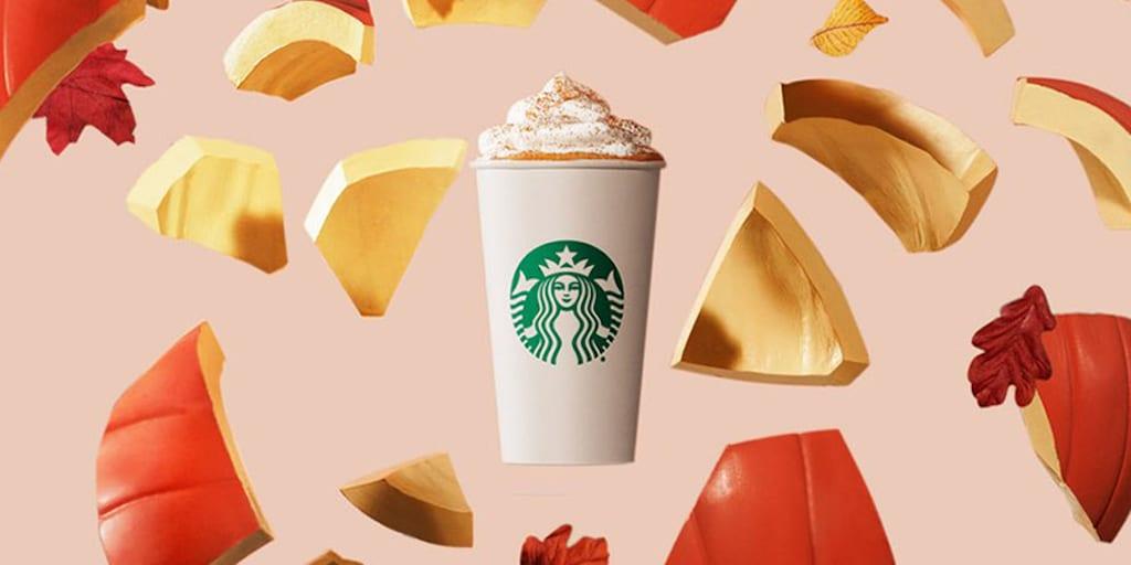 Starbucks vegan Pumpkin Spice Latte returns