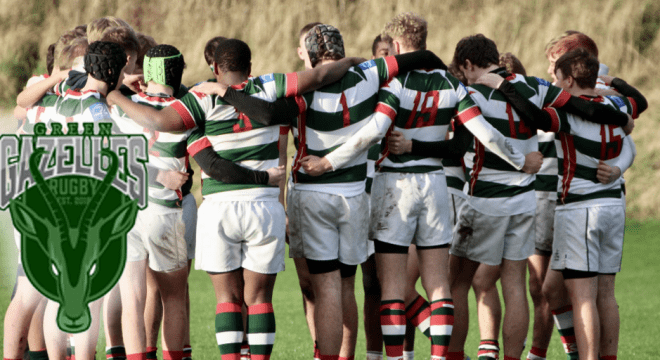 World's first vegan rugby club the Green Gazelles launched in the UK