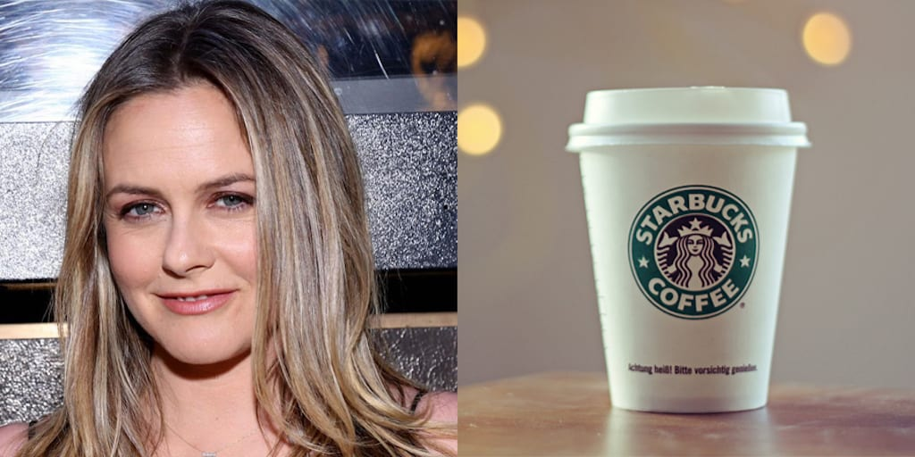 Alicia Silverstone slams Starbucks for charging extra for vegan milk
