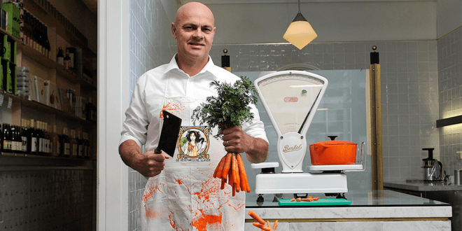 Butcher ditches meat and replaces it with plants