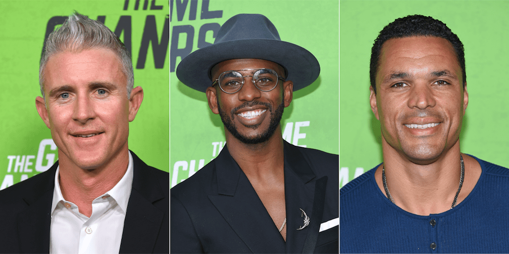 Elite sports stars watched the premiere of vegan documentary The Game Changers