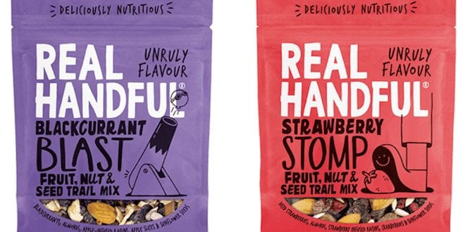 Healthy vegan trail mix range launches at Tesco