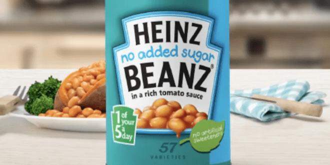 Heinz tweaks No Added Sugar Beans recipe to make it vegan