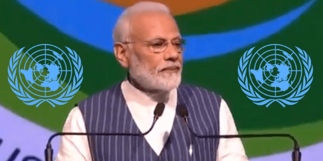 India Prime Minister Modi demands global ban on single-use plastic