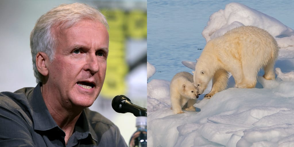 James Cameron says we need to 'Wake the fk up' over climate change