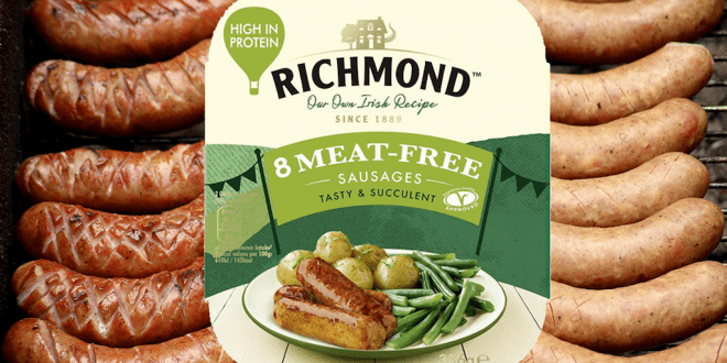 Richmond launches vegan sausages