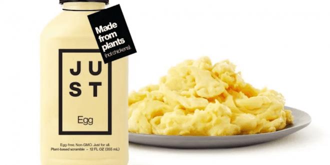 Walmart now stocks JUST vegan eggs