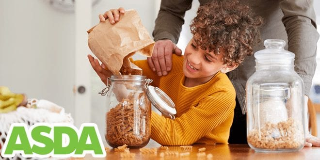 ASDA wants customers to use refillable containers to limit plastic use