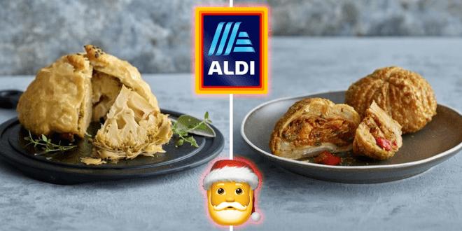 Aldi reveals vegan Christmas range including plant-based duck and wellington