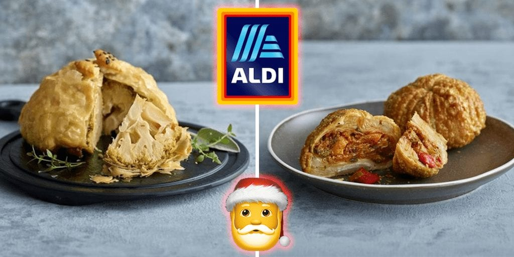 Aldi reveals vegan Christmas range including plant-based duck and wellington