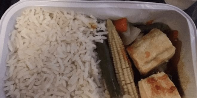British Airways customer slams truly pathetic inflight vegan meal We are not rabbits